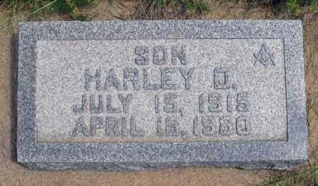 HOWARD, HARLEY D. - Dundy County, Nebraska | HARLEY D. HOWARD - Nebraska Gravestone Photos