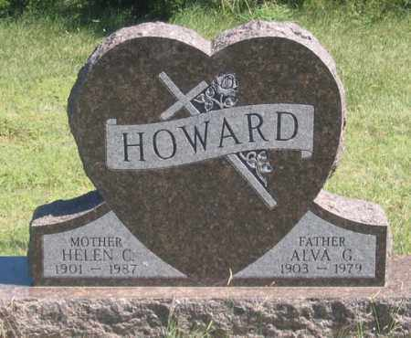 HOWARD, ALVA G. - Dundy County, Nebraska | ALVA G. HOWARD - Nebraska Gravestone Photos