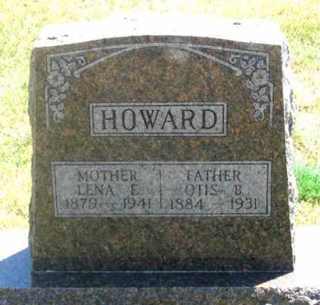 HOWARD, OTIS BLAINE - Dundy County, Nebraska | OTIS BLAINE HOWARD - Nebraska Gravestone Photos
