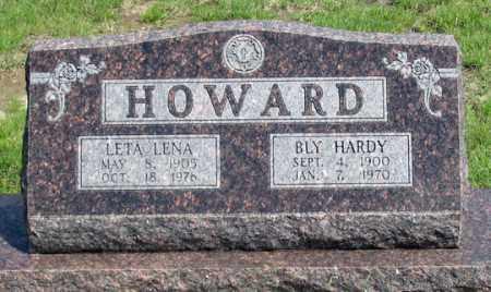 HOWARD, LETA LENA - Dundy County, Nebraska | LETA LENA HOWARD - Nebraska Gravestone Photos