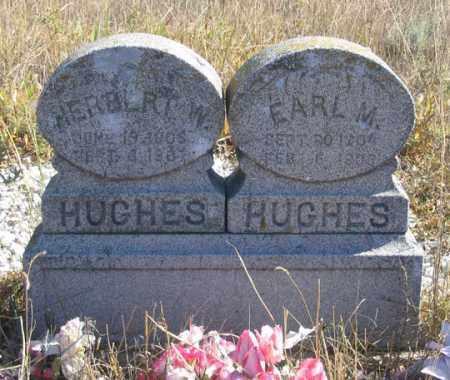HUGHES, EARL M. - Dundy County, Nebraska | EARL M. HUGHES - Nebraska Gravestone Photos