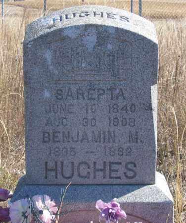 HUGHES, BENJAMIN M. - Dundy County, Nebraska | BENJAMIN M. HUGHES - Nebraska Gravestone Photos
