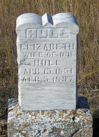 HULL, ELIZABETH - Dundy County, Nebraska | ELIZABETH HULL - Nebraska Gravestone Photos