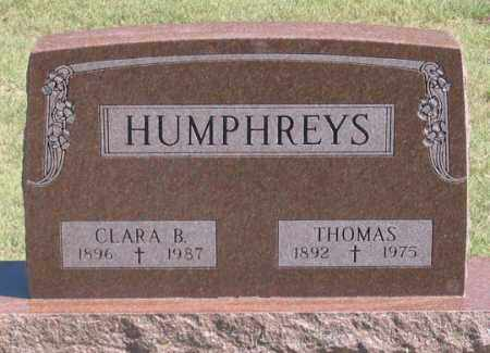 ARTIST HUMPHREYS, CLARA B. - Dundy County, Nebraska | CLARA B. ARTIST HUMPHREYS - Nebraska Gravestone Photos