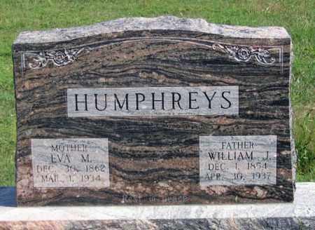 HUMPHREYS, MARY EVA - Dundy County, Nebraska | MARY EVA HUMPHREYS - Nebraska Gravestone Photos
