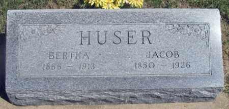 HUSER, BERTHA - Dundy County, Nebraska   BERTHA HUSER - Nebraska Gravestone Photos