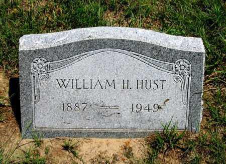 HUST, WILLIAM H. - Dundy County, Nebraska | WILLIAM H. HUST - Nebraska Gravestone Photos