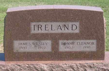 IRELAND, JAMES WESLEY - Dundy County, Nebraska   JAMES WESLEY IRELAND - Nebraska Gravestone Photos
