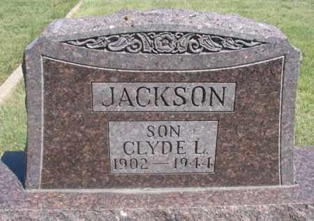 JACKSON, CLYDE L. - Dundy County, Nebraska | CLYDE L. JACKSON - Nebraska Gravestone Photos