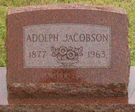 JACOBSON, ADOLPH - Dundy County, Nebraska | ADOLPH JACOBSON - Nebraska Gravestone Photos