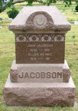 ANDERSON JACOBSON, ELLEN A. - Dundy County, Nebraska | ELLEN A. ANDERSON JACOBSON - Nebraska Gravestone Photos