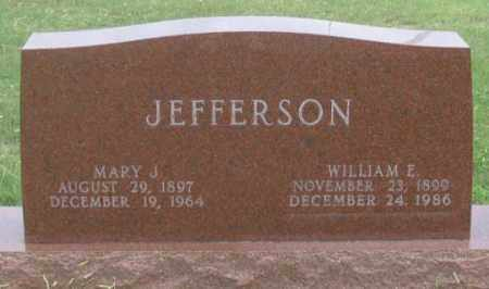 WALSH JEFFERSON, MARY J. - Dundy County, Nebraska | MARY J. WALSH JEFFERSON - Nebraska Gravestone Photos
