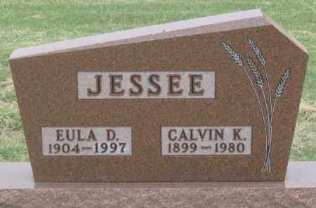 JESSEE, CALVIN K. - Dundy County, Nebraska   CALVIN K. JESSEE - Nebraska Gravestone Photos