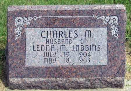JOBBINS, CHARLES M. - Dundy County, Nebraska | CHARLES M. JOBBINS - Nebraska Gravestone Photos