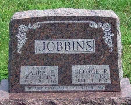 JOBBINS, LAURA F. - Dundy County, Nebraska   LAURA F. JOBBINS - Nebraska Gravestone Photos