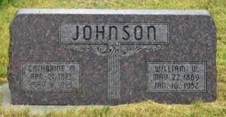 JOHNSON, WILLIAM WILFORD - Dundy County, Nebraska | WILLIAM WILFORD JOHNSON - Nebraska Gravestone Photos