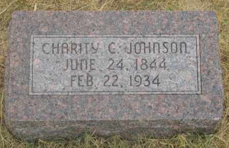 RITCHEY JOHNSON, CHARITY C. - Dundy County, Nebraska | CHARITY C. RITCHEY JOHNSON - Nebraska Gravestone Photos