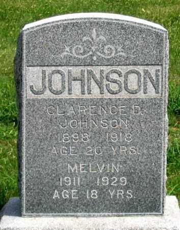 JOHNSON, CLARENCE D. - Dundy County, Nebraska | CLARENCE D. JOHNSON - Nebraska Gravestone Photos