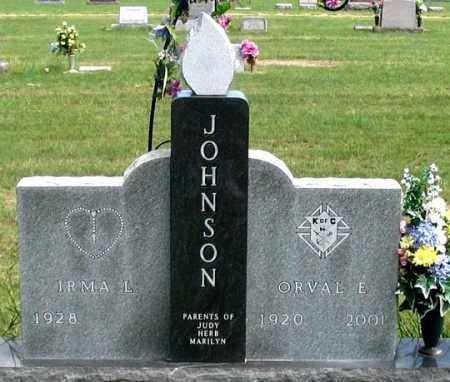 OSTDIEK JOHNSON, IRMA L. - Dundy County, Nebraska   IRMA L. OSTDIEK JOHNSON - Nebraska Gravestone Photos