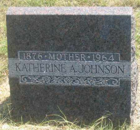 JOHNSON, KATHERINE A. - Dundy County, Nebraska | KATHERINE A. JOHNSON - Nebraska Gravestone Photos