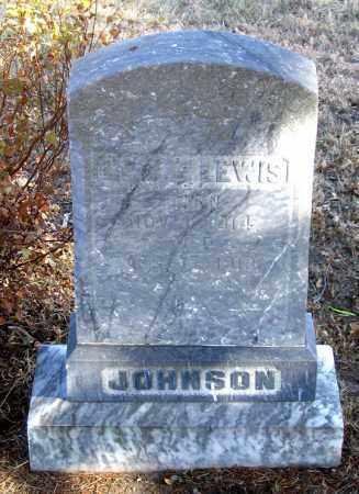 JOHNSON, LESLIE LEWIS - Dundy County, Nebraska | LESLIE LEWIS JOHNSON - Nebraska Gravestone Photos