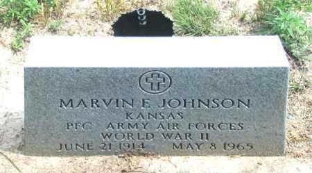 JOHNSON, MARVIN E. - Dundy County, Nebraska | MARVIN E. JOHNSON - Nebraska Gravestone Photos