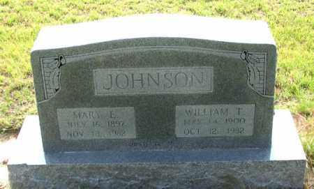 JOHNSON, MARY E. - Dundy County, Nebraska | MARY E. JOHNSON - Nebraska Gravestone Photos