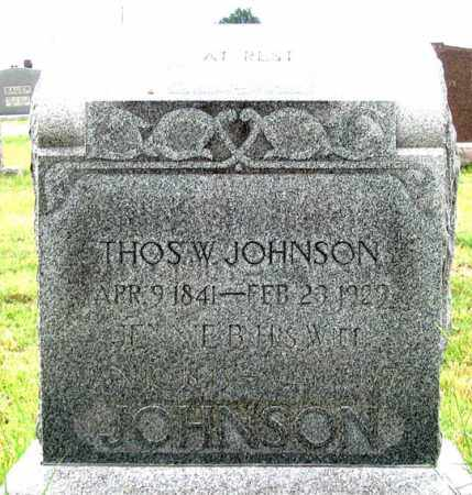 JOHNSON, JENNIE B. - Dundy County, Nebraska | JENNIE B. JOHNSON - Nebraska Gravestone Photos