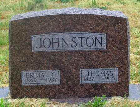 JOHNSTON, EMMA CHRISTINA - Dundy County, Nebraska | EMMA CHRISTINA JOHNSTON - Nebraska Gravestone Photos