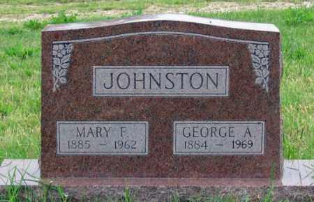 WINZ JOHNSTON, MARY F. - Dundy County, Nebraska | MARY F. WINZ JOHNSTON - Nebraska Gravestone Photos