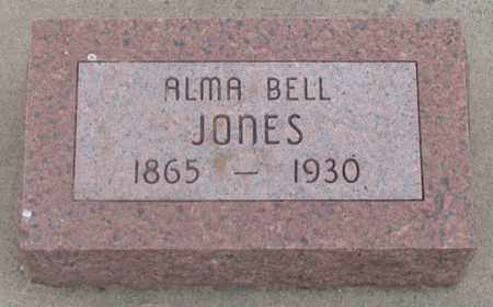 DAWSON JONES, ALMA BELLE - Dundy County, Nebraska   ALMA BELLE DAWSON JONES - Nebraska Gravestone Photos