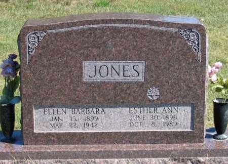 JONES, ELLEN BARBARA - Dundy County, Nebraska | ELLEN BARBARA JONES - Nebraska Gravestone Photos