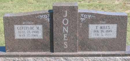 JONES, THOMAS MILES - Dundy County, Nebraska   THOMAS MILES JONES - Nebraska Gravestone Photos