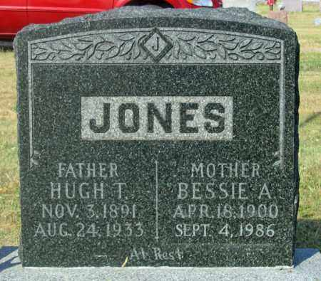 JONES, BESSIE A. - Dundy County, Nebraska | BESSIE A. JONES - Nebraska Gravestone Photos