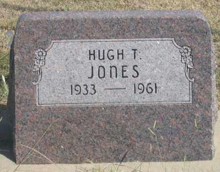 JONES, HUGH T., JR. - Dundy County, Nebraska | HUGH T., JR. JONES - Nebraska Gravestone Photos