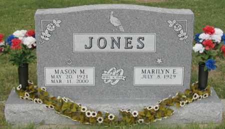 JONES, MASON M. - Dundy County, Nebraska | MASON M. JONES - Nebraska Gravestone Photos