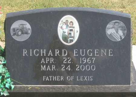 JONES, RICHARD EUGENE - Dundy County, Nebraska | RICHARD EUGENE JONES - Nebraska Gravestone Photos