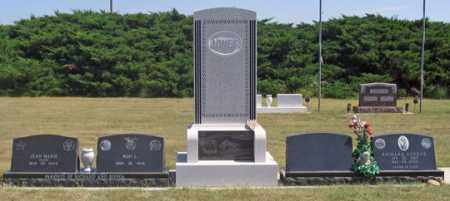 JONES, RON L. FAMILY GRAVE SITE - Dundy County, Nebraska   RON L. FAMILY GRAVE SITE JONES - Nebraska Gravestone Photos