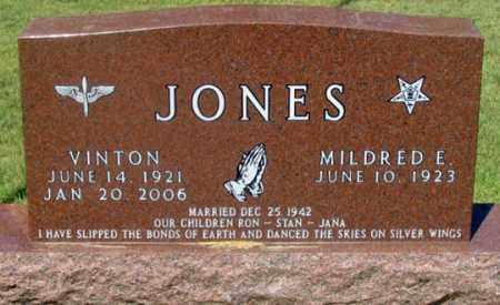 JONES, VINTON - Dundy County, Nebraska | VINTON JONES - Nebraska Gravestone Photos
