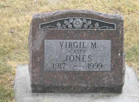 JONES, VIRGIL M. - Dundy County, Nebraska | VIRGIL M. JONES - Nebraska Gravestone Photos