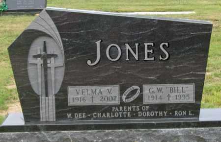 "JONES, GEORGE W. ""BILL"" - Dundy County, Nebraska | GEORGE W. ""BILL"" JONES - Nebraska Gravestone Photos"