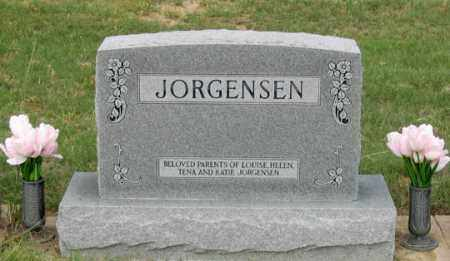 JORGENSEN FAMILY, HEADSTONE - Dundy County, Nebraska | HEADSTONE JORGENSEN FAMILY - Nebraska Gravestone Photos