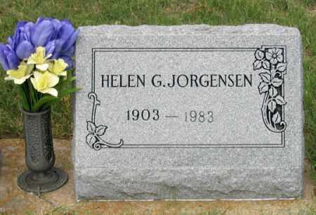 JORGENSEN, HELEN G. - Dundy County, Nebraska   HELEN G. JORGENSEN - Nebraska Gravestone Photos
