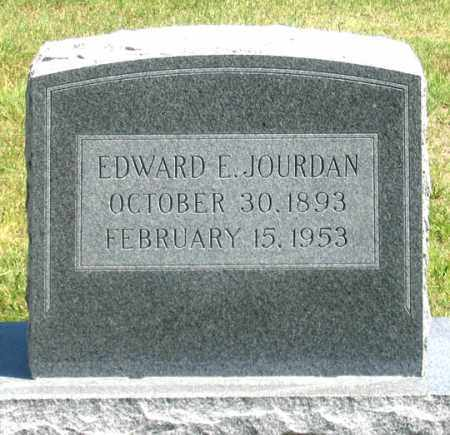 JOURDAN, EDWARD E. - Dundy County, Nebraska | EDWARD E. JOURDAN - Nebraska Gravestone Photos