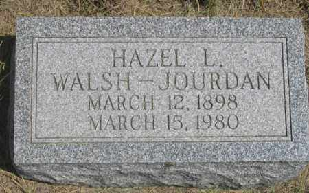 WALSH, HAZEL L. - Dundy County, Nebraska | HAZEL L. WALSH - Nebraska Gravestone Photos