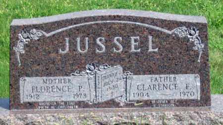 JUSSEL, CLARENCE F. - Dundy County, Nebraska | CLARENCE F. JUSSEL - Nebraska Gravestone Photos