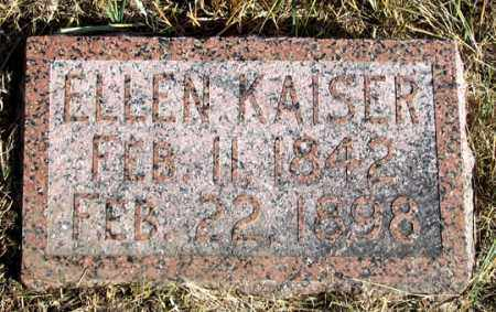 KAISER, ELLEN - Dundy County, Nebraska | ELLEN KAISER - Nebraska Gravestone Photos
