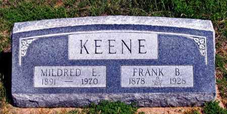 BROWN KEENE, MILDRED E. - Dundy County, Nebraska | MILDRED E. BROWN KEENE - Nebraska Gravestone Photos