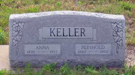KELLER, ANNA - Dundy County, Nebraska | ANNA KELLER - Nebraska Gravestone Photos