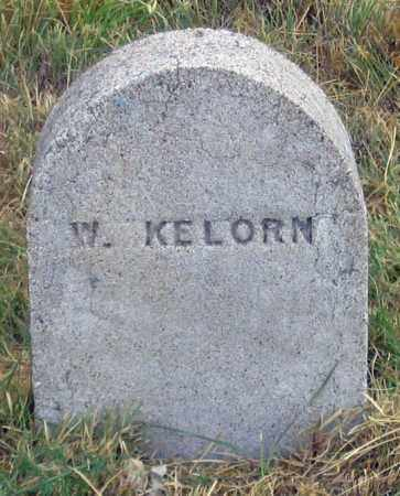 KELORN, W. - Dundy County, Nebraska | W. KELORN - Nebraska Gravestone Photos